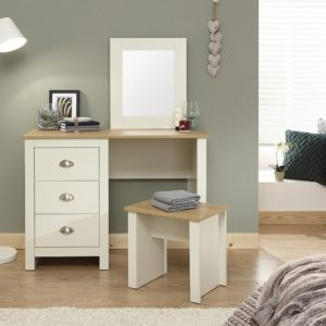 Lancaster Cream Dressing Table Set