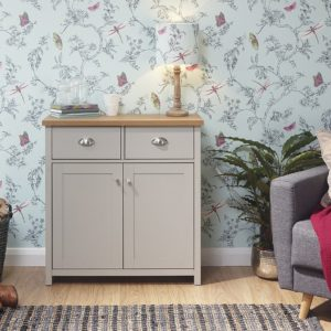 Lancaster Grey Compact Sideboard
