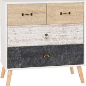 Nordic 2 + 2 Drawer Chest