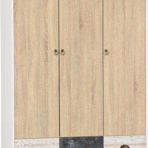 Nordic 3 Door Wardrobe