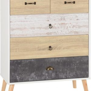 Nordic 3 + 2 Drawer Chest