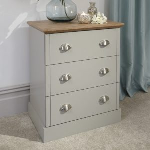 Kendal Grey 3 Drawer Chest