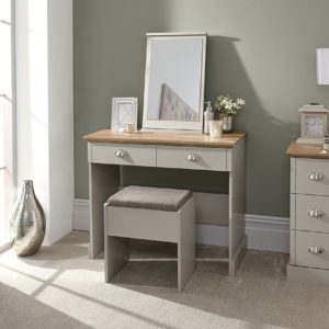 Kendal Grey 2 Drawer Dressing Table Set