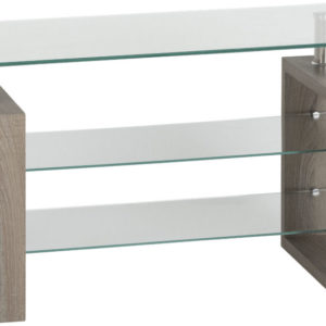 Milan Charcoal Tv Stand