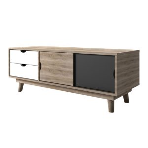 Scandi Grey TV Unit