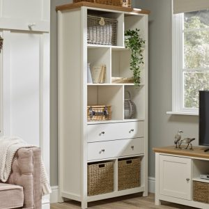 Cotswold Cream Large Bookcase