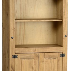 Corona Mexican Pine 2 Door Bookcase