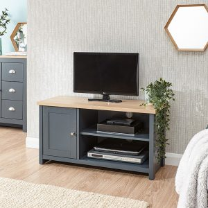 Lancaster Blue Small TV Unit