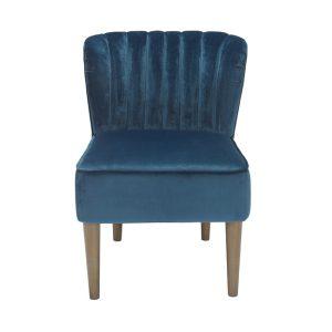 Bella Midnight Blue Chair