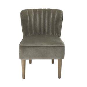 Bella Steel Grey Chair