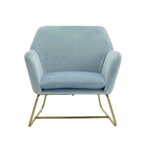 Charles Sky Blue Armchair