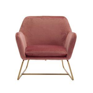 Charles Vintage Pink Armchair