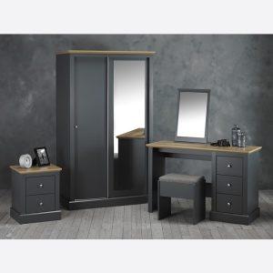 Devon Charcoal Bedroom