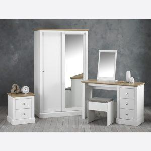 Devon White Bedroom