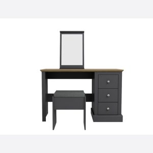 Devon Charcoal Dressing Table Set