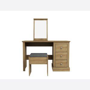 Devon Oak Dressing Table Set