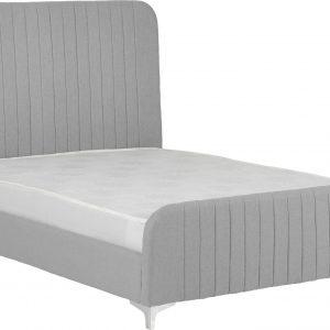 Hampton Grey Fabric Bed Frame