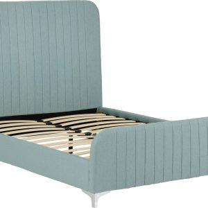 Hampton Teal Fabric Bed Frame