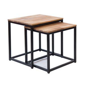 Mirelle Black Nest Of Tables