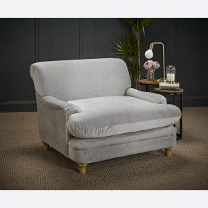 Plumpton Grey Armchair