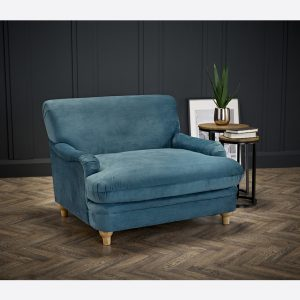 Plumpton Blue Armchair