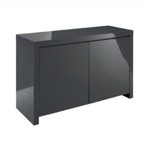 Puro Gloss Charcoal Sideboard