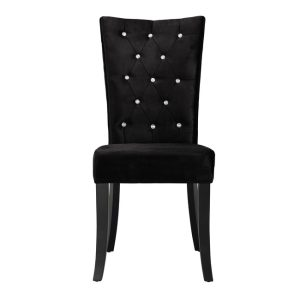 Radiance Black Dining Chairs