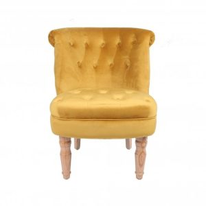 Charlotte Mustard Occasional Chair