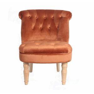 Charlotte Orange Occasional Chair