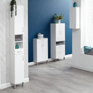 Mortiz Tall Bathroom Cabinet