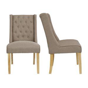 Verona Beige Fabric Chairs