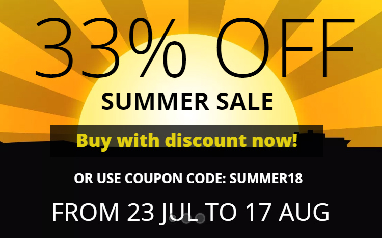 WinNc 8.3.0.0 available with 33% off summer / release sale