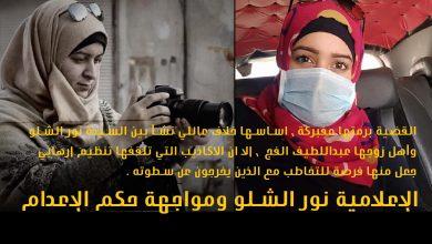 Photo of الإعلامية نور الشلو ومواجهة حكم الإعدام