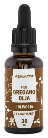 alpha plus oreganoolja