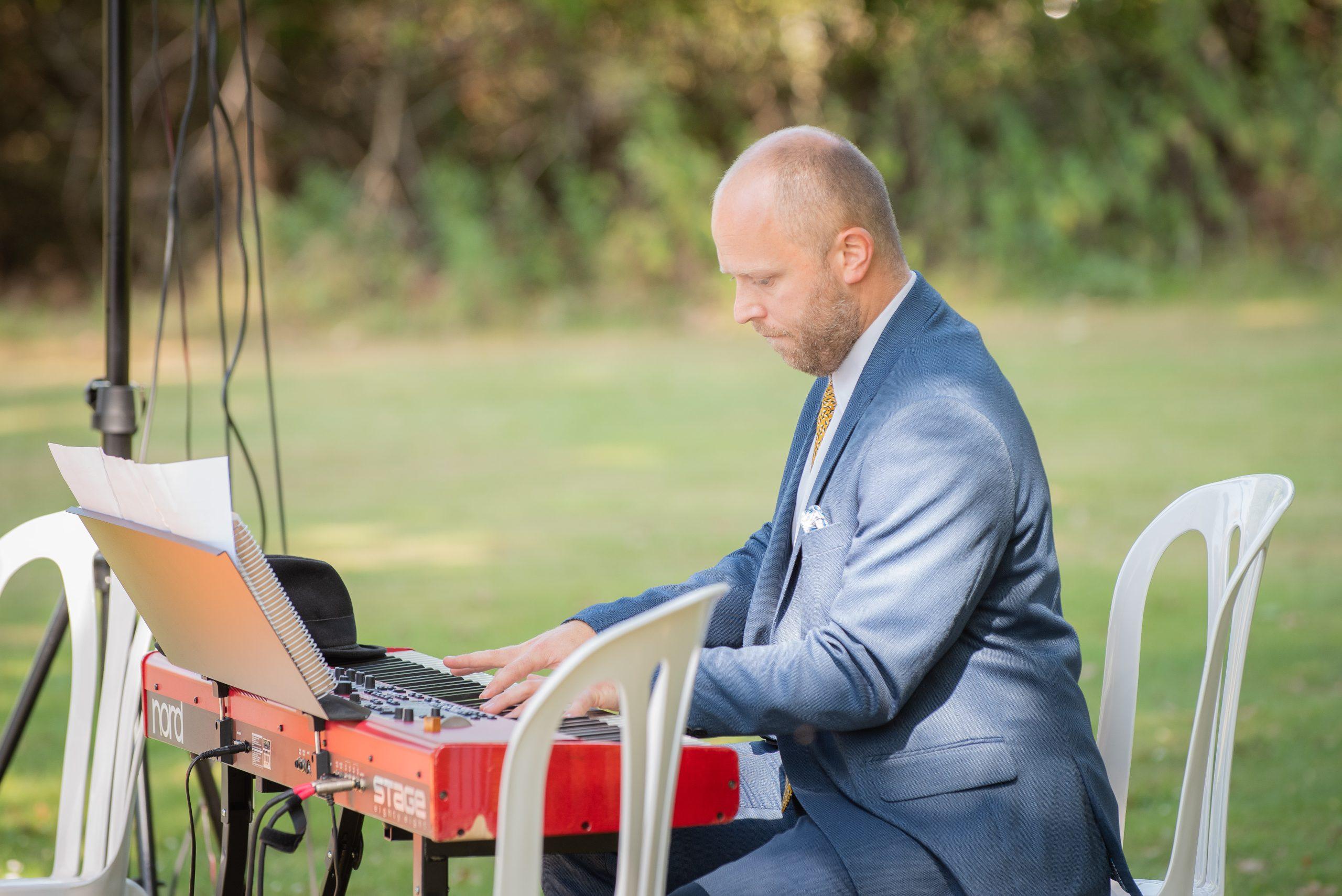 Pianist til vielse