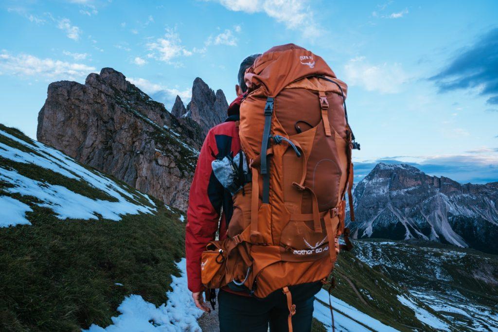 nybörjare som behöver utrustning för vandring