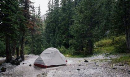 Tälta när det regnar – 6 tips när du tältar i regn