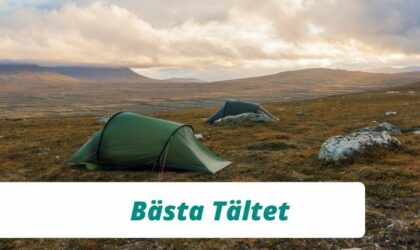 Bästa tältet för vandring 2021 – 4 bra vandringstält