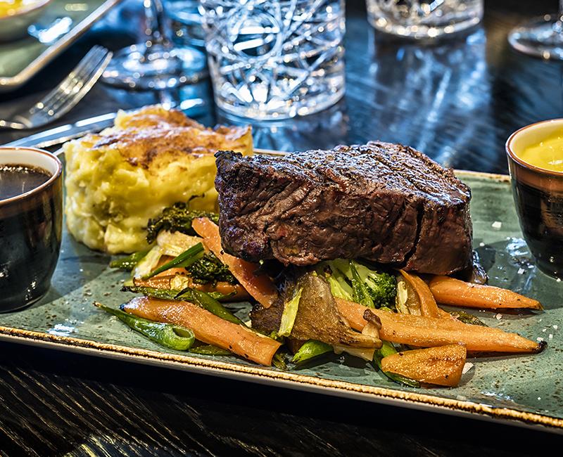 Restaurant Paa Brygga - Mat