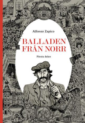 Omslaget till Balladen från norr, första delen