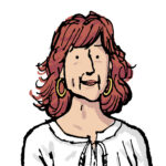 Manni Kössler, tecknad av Alfonso Zapico
