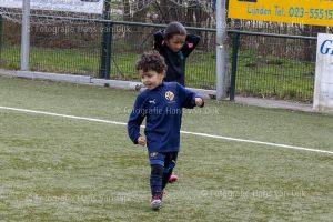 Woensdagmiddag 24 maart Pancratius training van de jongste jeugd