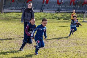 Zaterdag 20 maart Pancratius alleen de mini's en Champions League en jeugd tot elf uur