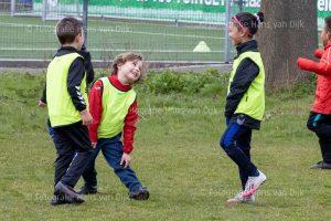 Zaterdag 10 april Pancratius de mini's en Champions League en jeugd tot elf uur