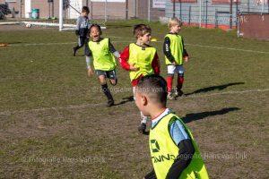 Zaterdag 17 april Pancratius de mini's en Champions League en jeugd tot elf uur