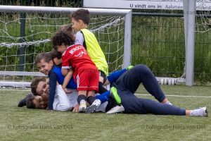 Woensdag 23 juni de laatste Pancratius training van de jongste jeugd van het seizoen iedereen een fijne zomer vakantie