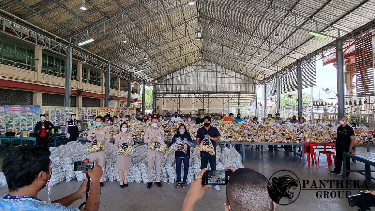 Panthera Group Delivers 1,000 Survival Bags to 29 Bangkok Slums Hit by Covid-19 Crisis
