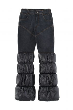 Telfar puff denim