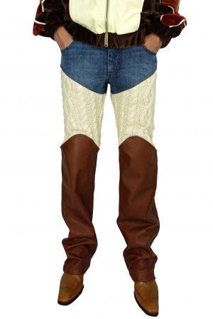 telfar-knitted-leather-denim-trousers5