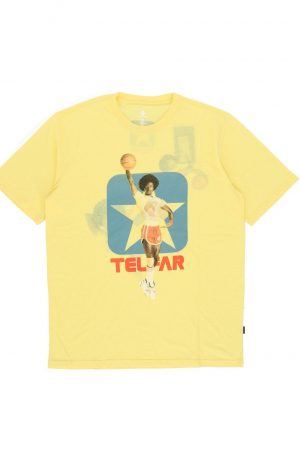 Telfar X Converse t-shirt in yellow